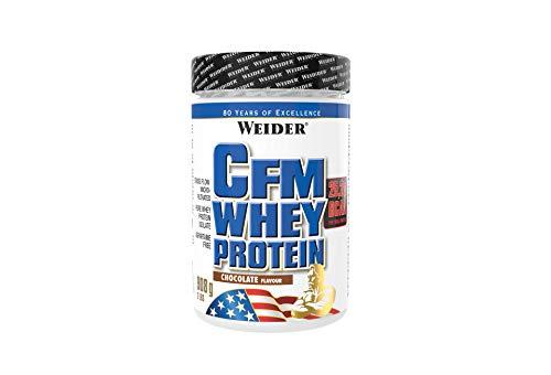 WEIDER CFM Whey Protein Isolat, hochwertiges Molkenproteinisolat, Eiweißpulver, 908g, Chocolate