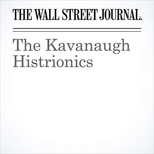 The Kavanaugh Histrionics copertina