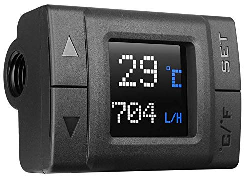 Thermaltake Pacific TF1 Cooler Temperature and Flow Indicator CL-W219-PL00BL-A