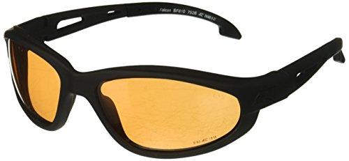Edge Tactical Falcon Vapor Shield Tigre Eye, SF610, Noir