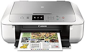 Canon MG5722 Wireless All-In-One Printer with Scanner and Copier: Mobile and Tablet Printing with Airprintcompatible