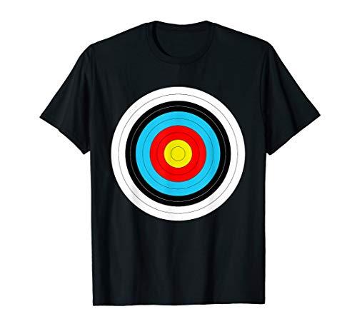 Zielscheibe vom Bogenschießen für Bogenschützen T-Shirt