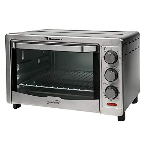 Koblenz HKM-1500 C 24-Liter Kitchen Magic Collection Convection Oven, One Size, Silver
