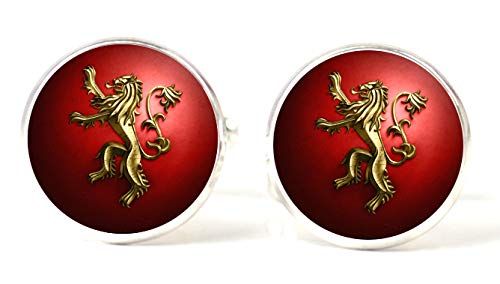 Boutons de manchette magglass Jeu de Game of Thrones Maison Lannister
