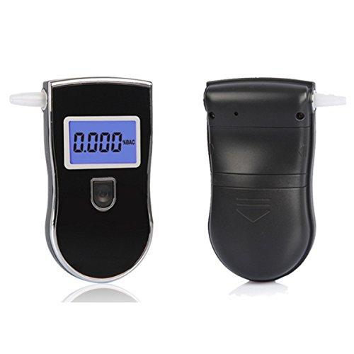 LMIAOM Tragbare LCD Advance Police Digital Atemalkohol-Tester Alkoholtester Analyzer Detector Hardware-Zubehör DIY-Tools