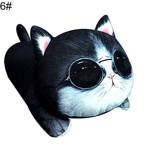 Funie Taschentuch-Aufbewahrung, niedliches Cartoon-Design für Hunde und Katzen, für Taschentücher, Servietten, Papierhalter – 1# OneSize 6#