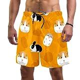Eslifey - Costume da bagno da uomo con costume da bagno elastico per roditori Multi M