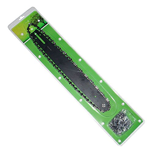 Barre de guidage de 30,5 cm et 2 chaînes de scie pour tronçonneuse Ryobi, voir description pour plus d'informations.