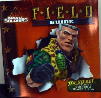"""Paperback SMALL SOLDIERS - """"Field Guide"""" book"""