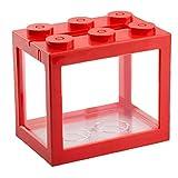NIDONE Mini Cube Acuario, Escritorio Acrílico del Tanque De Peces De Goldfish Y Otros Peces Pequeños, Ideal para La Oficina Sala De Estar Mesa De Escritorio Decoración