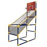 Juego de arcade de baloncesto para niños, con pelotas, mini sistema de tiro de baloncesto de juguete para interiores, para niños pequeños y diversión para toda la familia, juego de deportes para