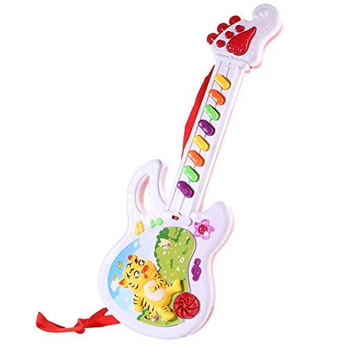 Tensay E-gitarre musical play spielzeug für kind junge mädchen kleinkind lernen elektronische spielzeug