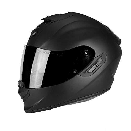Scorpion Motorradhelm Exo 1400 Air Solid Mat, Schwarz, Größe L