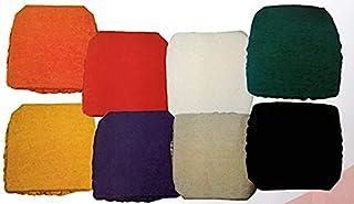 Madrid Cojines para Silla, 40x40 cm, Ajustables, Resistentes, Lavables Pack de 2 de 4 y de 6 Unidades (Gris, 6 Unidades)