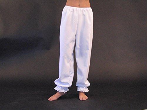 Generique - Lange weiße Unterhose Damen