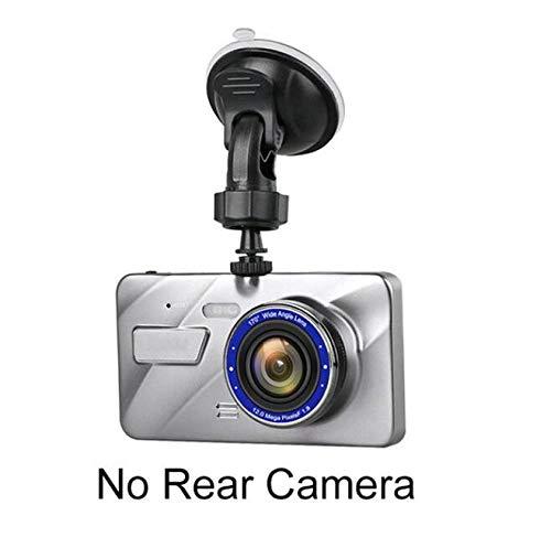 LYABANG 4 Zoll Full HD 1080P Auto DVR Kamera Dual Lens Dash Cam IPS Bildschirm Fahren Video Recorder Auto Registrator,B-No-TF-Card