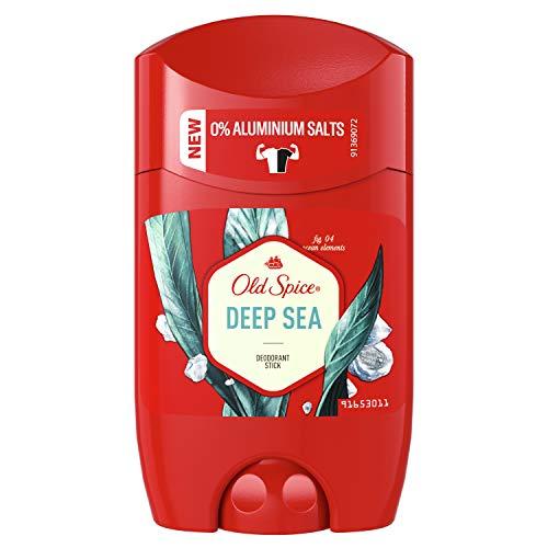 Old Spice Deep Sea Deodorant Stick | 50ml | Deo Stick Ohne Aluminium Für Männer | Männer Deo Mit Langanhaltendem Duft