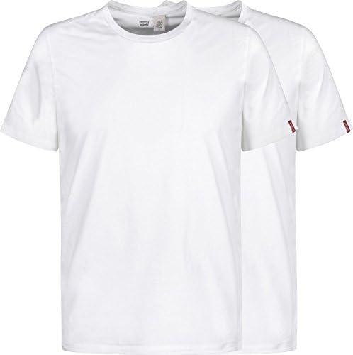 Levi's Camiseta Hombre Cuello Redondo Slim Pack de 2