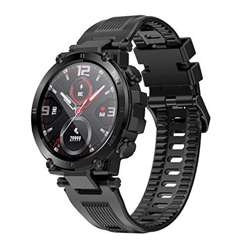 Smartwatch, 1,3 Zoll Touch Screen Fitness Armbanduhr mit Schrittzähler Schlafmonitor Stoppuhr, IP68 wasserdichte Sportuhr für Damen Herren Smart Watch für iOS Android