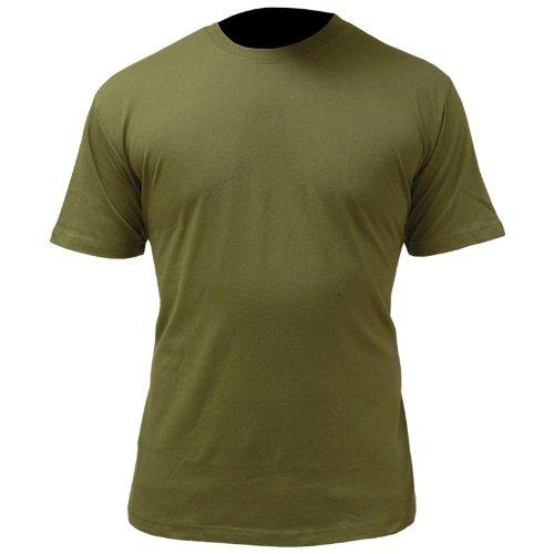 Highlander T-Shirt pour Homme. L Vert Olive