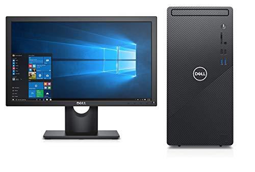 Dell Inspiron 3880 10th Gen Intel Core i3 Desktop (8GB RAM/1TB HDD/Windows 10/Ms Office 2019/WiFi,Bluetooth) (Desktop with Dell E2016HV, 20' Monitor) 1 Year Warranty