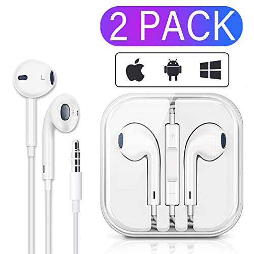 Why Should You Buy 3.5mm Wired Headphone/Earphones/Earbuds/Headsets,Noise Isolating Wired Earbuds ...