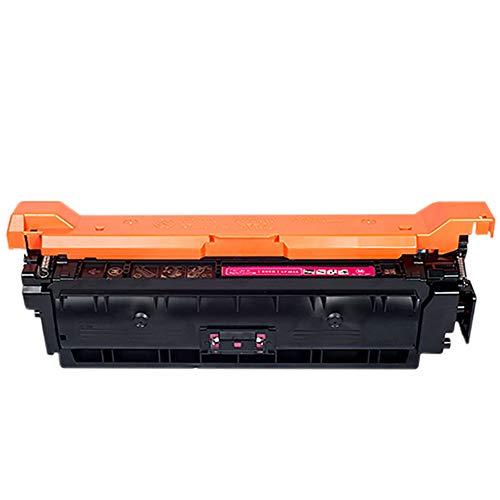 CE250A Cartucho de Tóner, AHXN de Alta Capacidad HD con Chip para HP 504A CP3525N 3525X CM3530 Color Printer Cartridge, color rosso size