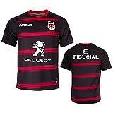 YAQA Maillot De Rugby De La Coupe du Monde De Rugby À Domicile 2021 Toulouse, Chemise D'entraînement Décontractée en Plein Air pour Hommes/Femmes Home-S