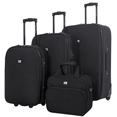 David Jones - Set de 3 Valises Souples Légères + 1...