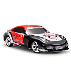 1:28 Scale RTR Version,4 Wheels Drive,2.4G Radio Control,Able To Support Multiples Cars Racing At The Same Time.Easy to control. Thanks To the Brushed 130 Motors,The Highest Speed Can Be 30KM/H And It Is Able To Drive In grass,Desert And Icy(Not Wate...