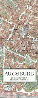 Stadtplan Augsburg in 3D von Bollmann