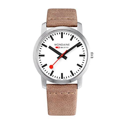 Mondaine Herren analog Swiss Quartz Uhr A638.30350.16SBG