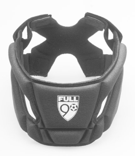 Full 90 Sports Select Performance Soccer Headgear, Black, Medium
