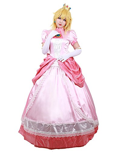 miccostumes Women's Princess Peach Cosplay Costume (Women s)