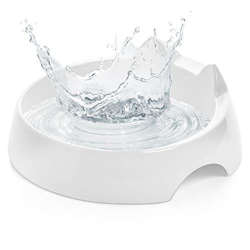 CatGuru Whisker Stress Free Cat Water Bowl, Reliefs Whisker Fatigue, Wide Cat Dish, Non Slip Cat...