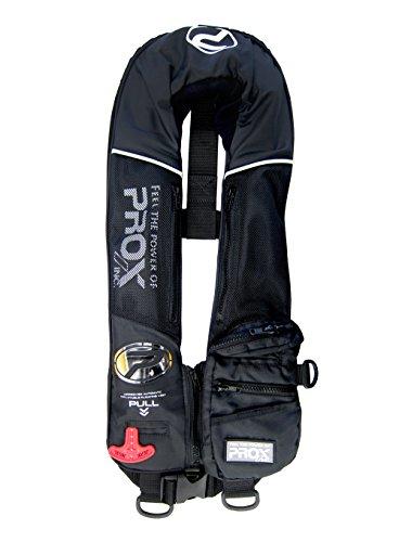 プロックス PX030AK 自動膨脹式ライフジャケット検定品(PROXロゴ) ブラック