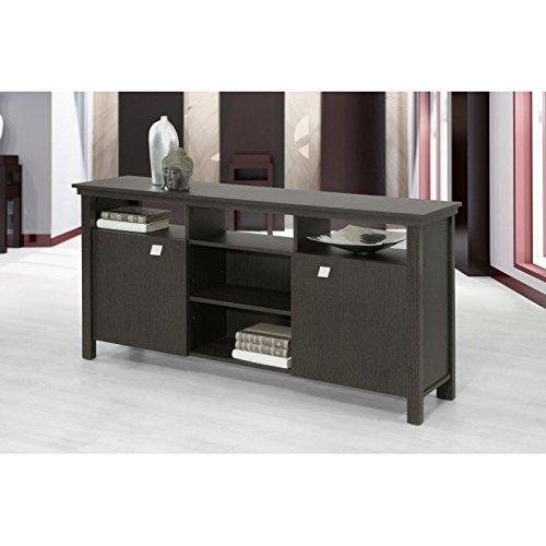 TOPKIT | Mueble de almacenaje Cantabria 2070 | Tamaño: 76x153x32,5 Cm | Mueble de Salon | Wengué