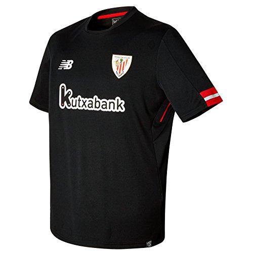 New Balance ACB Replica MC Camiseta Athletic Club Bilbao 2A Equipación, Hombre,...