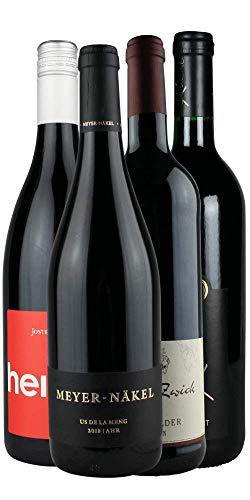 RHEIN-AHR-WEIN Weinpaket KRÄFTIGER ROTWEIN (4x 0,75l), kräftige und leckere Ahr-Rotweine