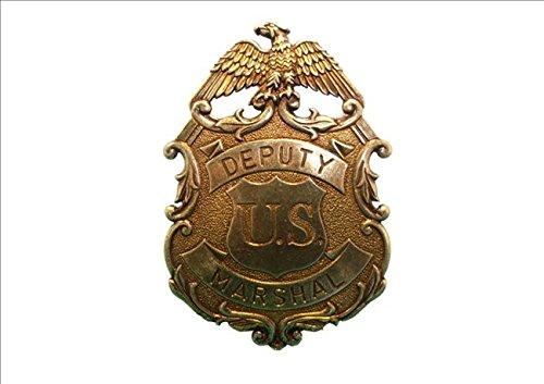 Denix US Deputy Marshal Stern Adler Sheriff Stern messingf. Cowboy Western