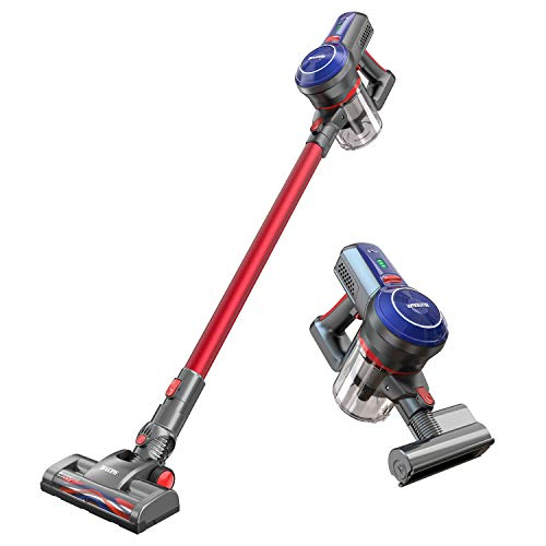 Cordless Vacuum Cleaner, BEAUDENS B6 16Kpa 160W Powerful Digital Motor Brushless, Deep Cleaning Lightweight Handheld Stick Vacuum with Rechargeable Lithium Ion Battery for Home Hard Floor Carpet Bed