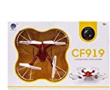 1.Only Drone with Two lights Blue and Green make your drone visible even at night or during darkness 2.Dorne with 6 Axis Gyrosocpe for better positioning even at height 3.Facility for protection of blades - You can fly with and without blade protecti...