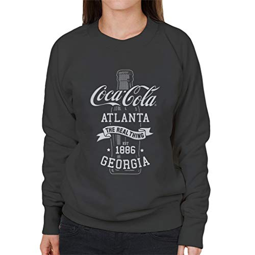 Coca Cola fles het echte ding vrouwen trui