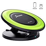 Wireless Charger Pad, Seneo 7.5W Fast Wireless Charging Stand for iPhoneX/8/8+, 10W Fast Charge…