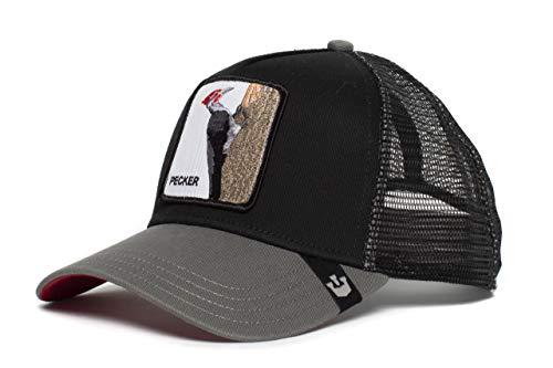 Goorin Bros. Trucker Cap Woody Wood Schwarz, Size:ONE Size