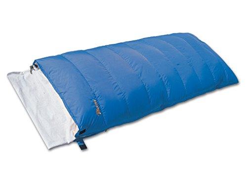 Bertoni Yacht avec Fermeture éclair Sac de Couchage en Duvet de Camping, caravaning, Camping-Car et Maison, Bleu Ciel, Taille Unique