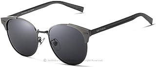 نظارة شمسية للجنسين، عدسات بولارزيد، اسود و رمادي
