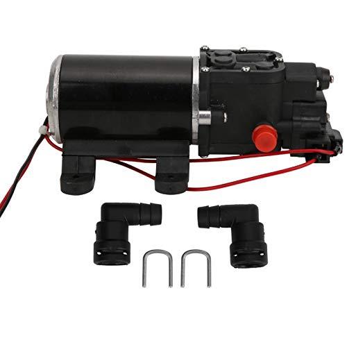 DC 12V Wasseryachtpumpe, Mikromembranpumpe, Elektrotreiber für technische Kunststoffe, Mikro-Hochdruckmotor-Reinigungsmembranpumpe, für Wohnwagen/Wohnmobile