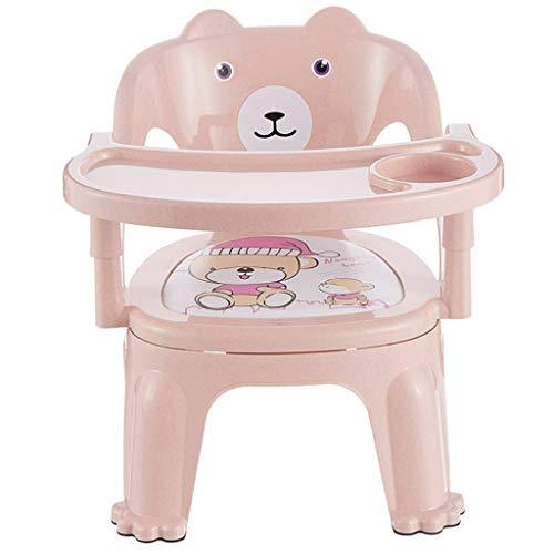 TASE Verstellbarer Kinderstuhl, abnehmbares Tablett, Schlichter Stil, pink, Kinderstuhl