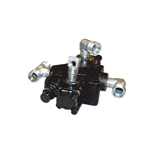 LESCHA ATIKA Ersatzteil | Hydraulikventil komplett für Holzspalter ASP 10 N/ASP 11 N/ASP 14 TS/SPL 10 / SPL 11